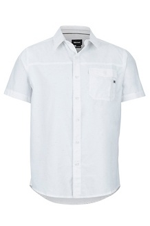 Tumalo SS Shirt, White, medium