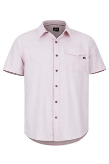 Tumalo SS Shirt, Pink Sand, medium