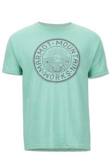 Rey Knolls SS Tee, Pond Green Heather, medium