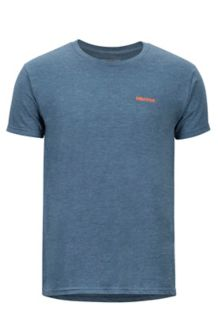 Vallemar SS Tee, Navy Heather, medium