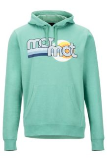 Ryms Hoody, Pond Green Heather, medium