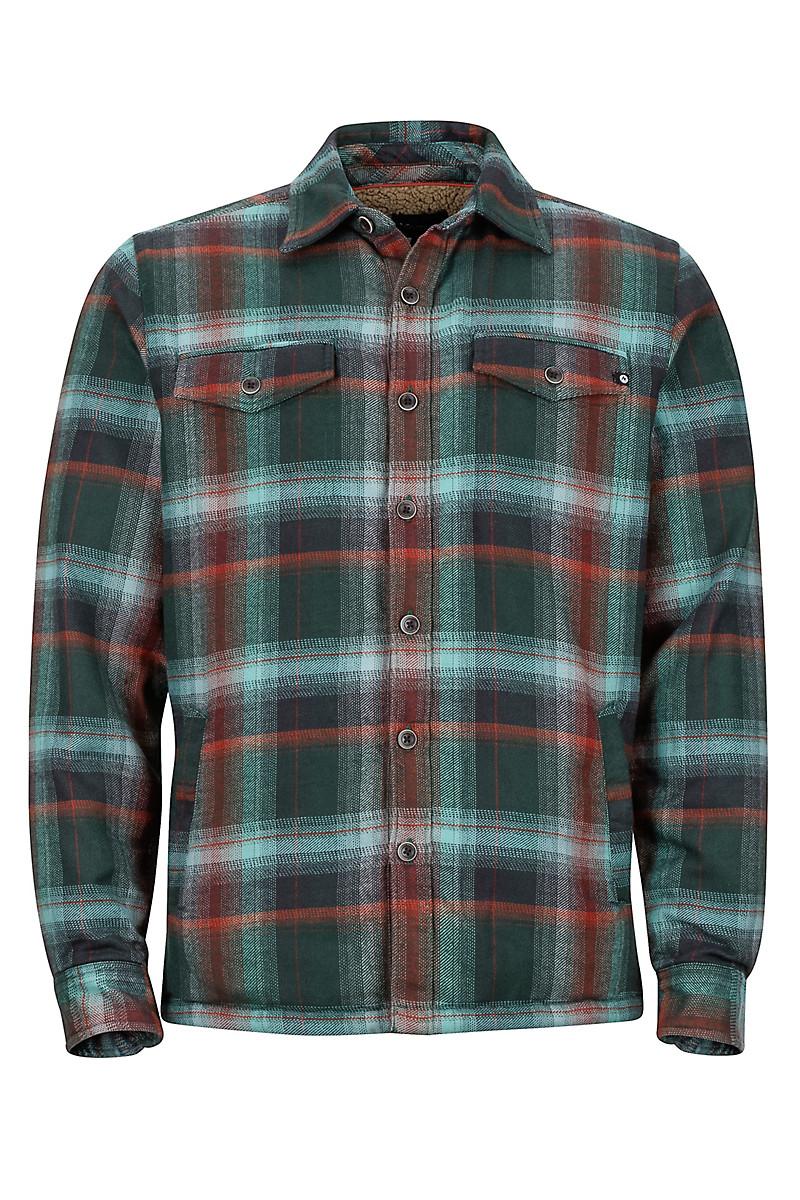d0b773ae Ridgefield LS Flannel Shirt, Mallard Green, large