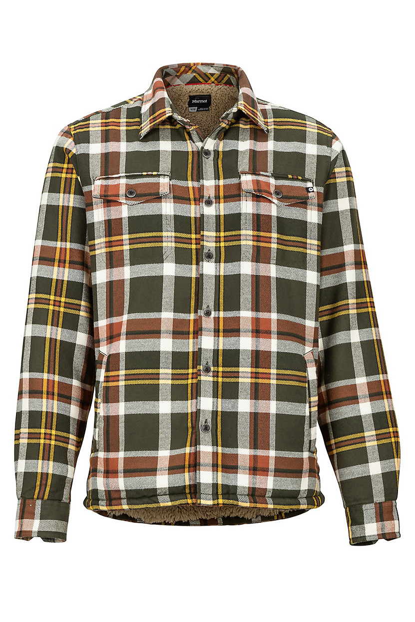 X-Future Mens Plaid Flannel Button Front Long Sleeve Casual Shirt