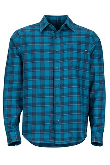 Bodega Lightweight Flannel LS Shirt, Late Night, medium