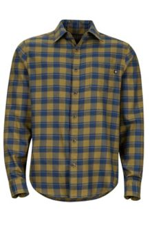 Bodega Lightweight Flannel LS Shirt, Fir Green, medium