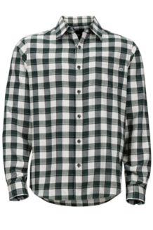 Bodega Lightweight Flannel LS Shirt, Dark Spruce, medium