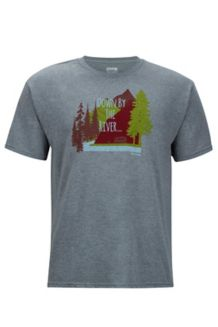 Waterfront Tee SS, Ash Heather, medium