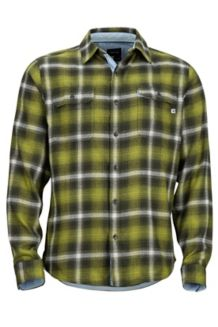 Jasper Midweight LS Flannel Shirt, Fatigue, medium