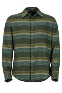 Enfield Midweight Flannel LS Shirt, Rosin Green, medium
