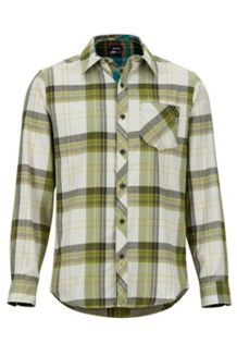 Anderson Lightweight Flannel LS Shirt, Cilantro, medium