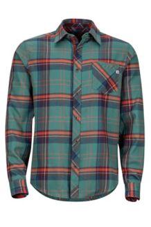 Anderson Lightweight Flannel LS Shirt, Mallard Green, medium