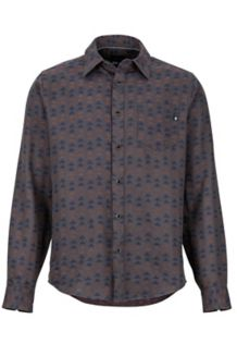 Lost Coast Midweight Flannel Shirt, Slate Grey, medium