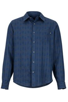 Lost Coast Midweight Flannel Shirt, Vintage Navy, medium