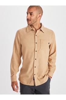 Men's Hobson Midweight Flannel Long-Sleeve Shirt, Scotch Heather, medium