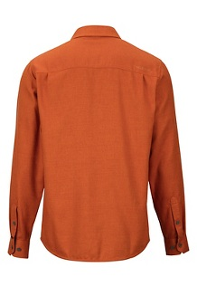 Men's Hobson Midweight Flannel Long-Sleeve Shirt, Hawaiian Sunset Heather, medium
