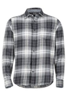 Fairfax Midweight Flannel LS Shirt, Slate Grey, medium
