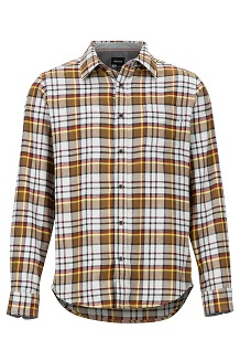 Men's Fairfax Midweight Flannel Long-Sleeve Shirt, Bright Steel, medium