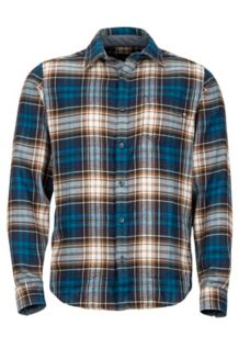 Fairfax Midweight Flannel LS Shirt, Vintage Navy, medium