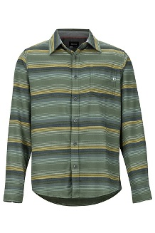 Men's Fairfax Midweight Flannel Long-Sleeve Shirt, Golden Leaf, medium
