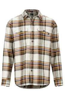 Men's Zephyr Cove Midweight Flannel Long-Sleeve Shirt, Moonstruck, medium
