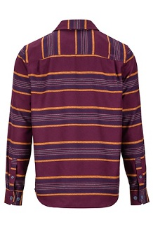 Men's Zephyr Cove Midweight Flannel Long-Sleeve Shirt, Fig, medium