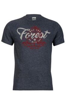 Forest Tee SS, Charcoal Heather, medium