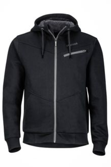 Parsons Peak Sherpa Hoody, Black, medium