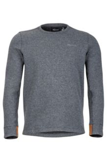 Callen Crew LS, Slate Grey Heather, medium