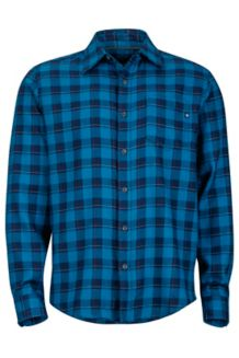 Bodega Flannel LS, Denim, medium
