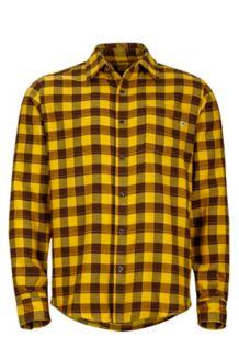 Bodega Flannel LS, Mustard Yellow, medium