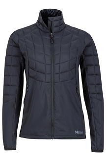 Wm's Featherless Hybrid Jacket, Black, medium