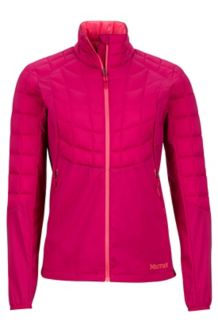 Wm's Featherless Hybrid Jacket, Sangria, medium