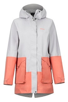 Women's Wend Jacket, Platinum/Coral Pink, medium