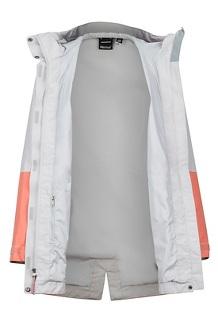 Women's Wend Jacket, Platinum/Coral Pink, medium