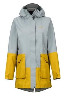 Women's Wend Jacket, Grey Storm/Golden Palm, medium