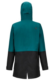Women's Wend Jacket, Deep Teal/Black, medium
