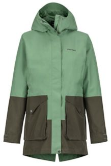Wm's Wend Jacket, Vine Green/Forest Night, medium