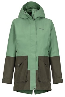 Women's Wend Jacket, Vine Green/Forest Night, medium