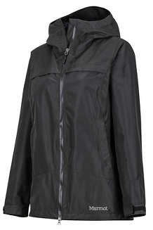 Women's Tamarack Waterproof Jacket, Black, medium