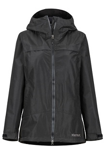Women's Tamarack Waterproof Jacket, Black, medium