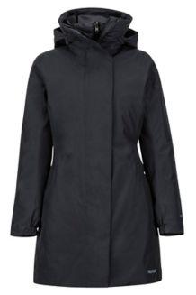 Women's West Side Component Jacket, Black, medium