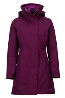 Women's West Side Component Jacket, Dark Purple, medium