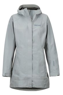 Women's Essential Jacket, Grey Storm, medium