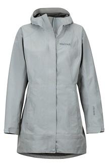 Women's Essential Jacket, Grey Storm, medium