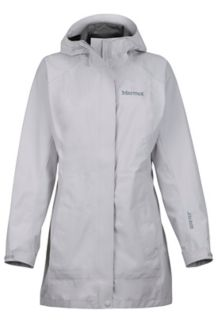 Women's Essential Jacket, Platinum, medium