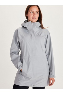Women's Essential Jacket, Sleet, medium
