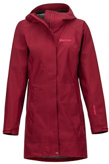 Women's Essential Jacket, Claret, medium