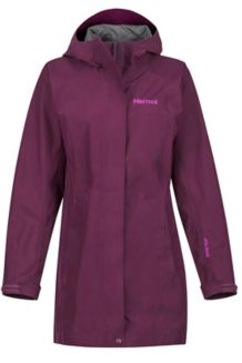 Women's Essential Jacket, Dark Purple, medium