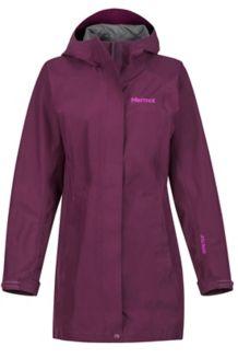 Women's Essential Jacket, Dark Purple, medium
