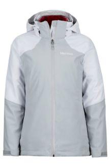 Wm's Featherless Component Jacket, Bright Steel/White, medium